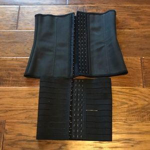 Other - Bundle of 2 waist trainers. Never used, black, M
